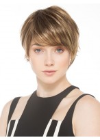 New Arrivals Short Lace Front Straight Synthetic Wig