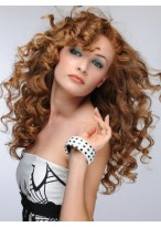 Gorgous Long Capless Wavy Synthetic Wig