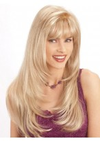 Long Synthetic Hair Subtle Layers Style With Romantic Appeal