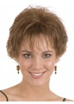 Short Lightweight Flipped Layers Synthetic Wigs