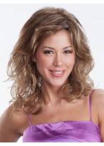 Long Layered Loose Curls Smooth Crown Synthetic Wig