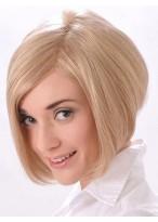 Short Asymmetrical Cut Bob With Razor Edges Synthetic Wig