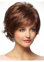 Over Razor Layering and Tapering Synthetic Wig