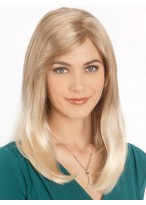 Synthetic Long Length Smooth Hair Style Wig