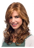 Long Style With Soft Lush Curls Sweeping Synthetic Wig