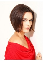 Synthetic Natural Straight Capless Shoulder Length Nifty Wig