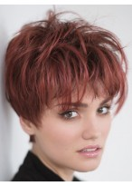 Synthetic Stand Short Capless Lovely Wig