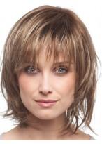 Shiny Capless Short Synthetic Charming Wig