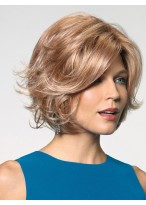 Fashion Short Capless Synthetic Wig With