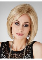 Bob Style Synthetic Short Silky Wig