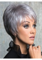 Clean Short Synthetic Capless Wig