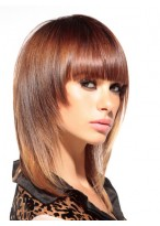 Beautiful Layers Medium Length Synthetic Wig