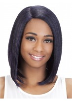Comfortable Medium Length Synthetic Full Lace Wig
