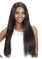"""24""""Silky Long Straight Synthetic Capless Wig"""