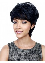 Layers Capless Short Synthetic Charming Wig