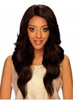 Reddish  Wavy Synthetic Capless Wig