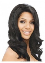 """16"""" Wavy Remy Human Hair Lace Front Wig"""