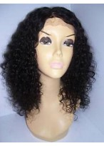 """16"""" Lace Front Curly Human Hair Wig"""
