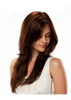 """24"""" Human Hair Straight Full Lace Wig"""