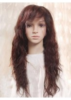 """22"""" Remy Human Hair Wavy Full Lace Wig"""
