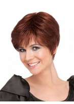 Short Straight Synthetic Full Lace Wig