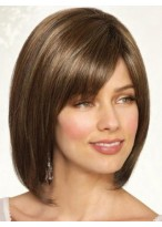 Smooth Bob Style Full Lace Wig