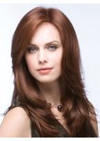 Long Natural Straight Full Lace Wig