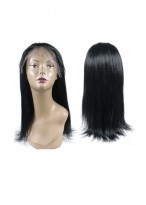 Textured Full Lace Silky Straight Wig