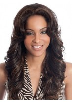 """20"""" Deep Wave Indian Remy Human Hair Full Lace Wig"""