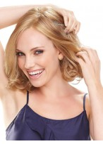 Classic Chin Length Curled Bob Lace Front Wig