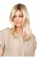 Hand-Tied Lace Front Long Wavy Wig