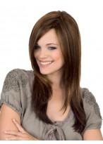 100% Human Hair Full Lace Long Straight Wig