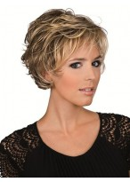 Short Layers Extra Mono Lace Wig