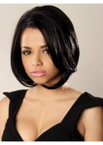 Fashion Bob Style Synthetic Lace front Wig
