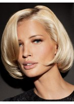 Beautiful Lace Front Heat Friendly Synthetic Wig Short Length
