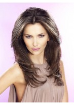 Long Straight Lace Front Heat Friendly Synthetic Wig