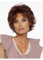 Short Straight Lace Front Heat Friendly Synthetic Wig