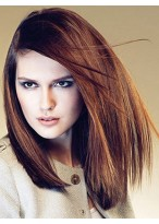 Stylish Full Lace 100% Remy Human Hair Wig