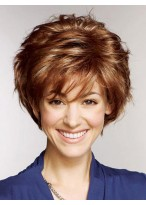 Attractive 100% Human Hair Full Lace Short Wig