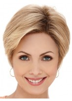 Short Lace Front Straight Beautiful Wig