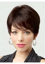 Short Lace Front Straight Wig