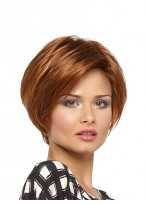Fabulous Short Full Lace Straight Wig For Women