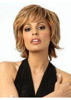 Short Straight Lace Front Wig For Women