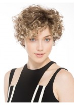 Beautiful Short Lace Front Wavy Synthetic Wig