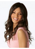 Human Hair Full lace Soft Long Straight Wig