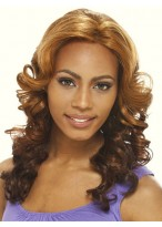 Wavy Lace Front Human Hair Long Wig