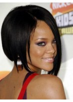 Rihanna Short Straight Celebrity Wigs