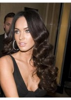 "Megan Fox-20"" Wavy Full Lace Celebrity Wig"