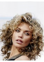 "12"" Annalynne Mccord Medium Wavy Popular Full Lace Hair Wig"