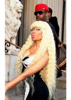 Nicki Minaj Long Swinging Wig